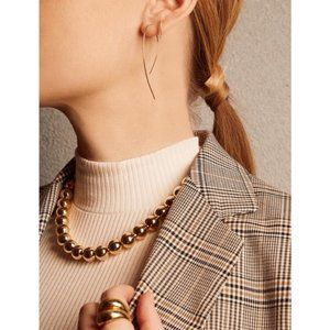 BaubleBar Gold Pisa Statement Collar Necklace
